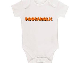 Boobaholic Baby Body Suit
