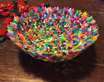 Melted Bead Bowl