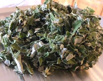 Dried Red Raspberry leaf, Rubus idaeus organic high quality herb