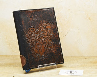 Covers leather A5 steampunk Butterfly book