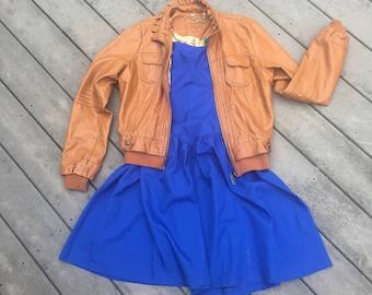 Royal Blue Sweetheart Neckline Strapless Dress