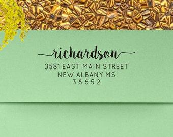 Address Stamp, Return Address Stamp, Custom Address Stamp, Personalized Stamp, Self Inking Address Stamp, Wedding Invitation - 104