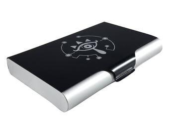 Zelda Sheikah Eye Amiibo Card Case for Nintendo Switch Wii U FREE SHIPPING