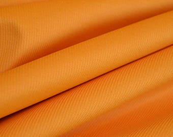 Orange Corduroy, Solid orange cotton by the yard, Width: 59""
