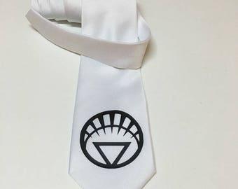 White Lantern Necktie