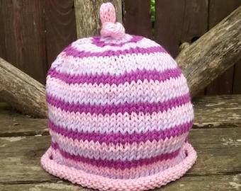 Newborn baby cotton beanie hat
