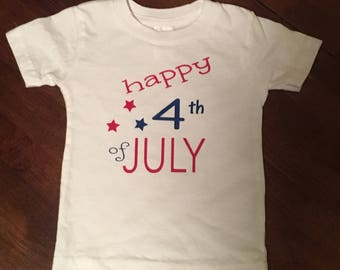 Happy 4th of July shirt, Patriotic shirt, Fourth of July shirt