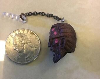 Red Zombie Earphone Jack Dust Plug