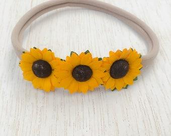 Little Miss Sunflower Headband