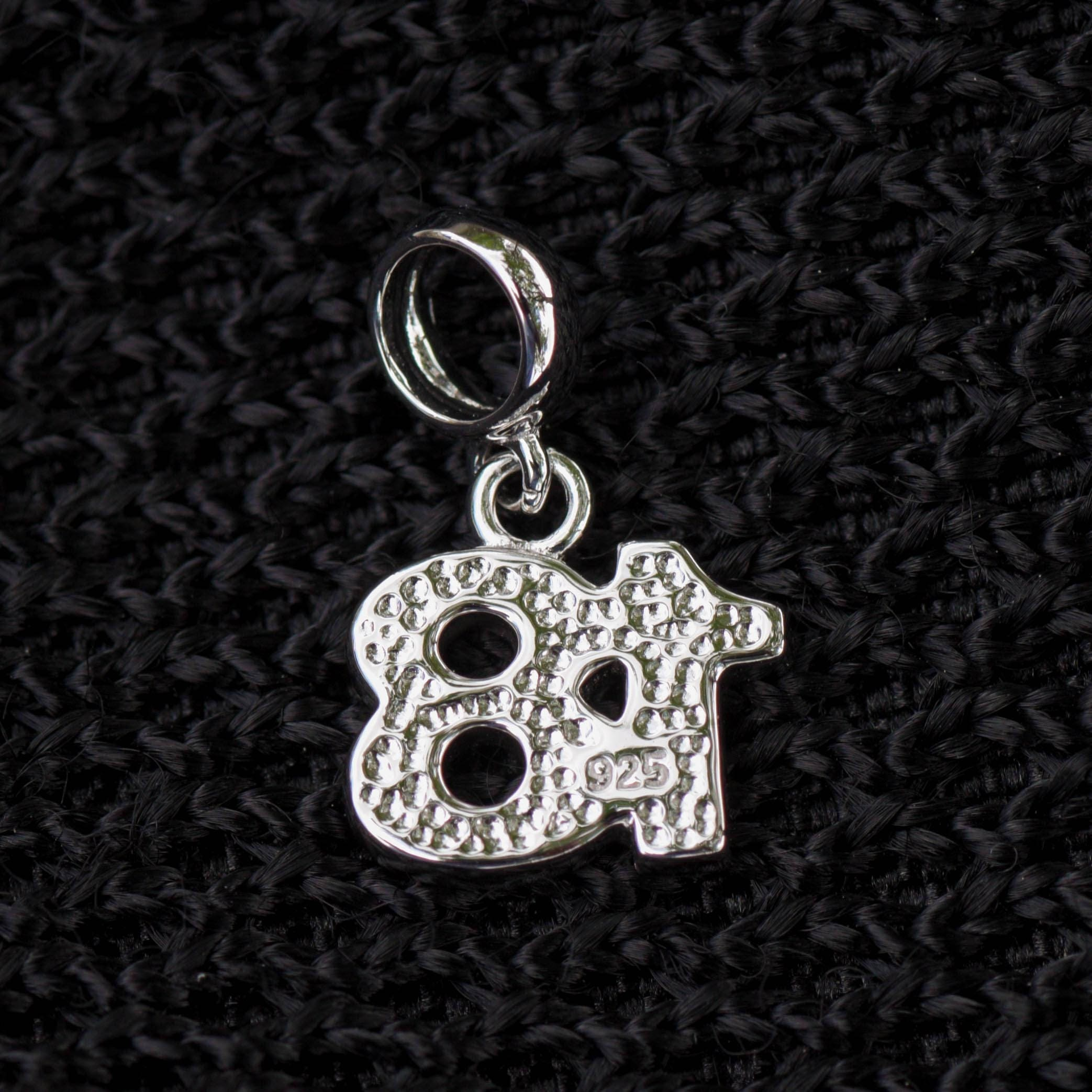 Sweet 18th Birthday Charm for Bracelet Making Number 18 Charm