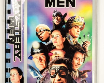 Recycled VHS Original Movie Box Notebook Sketchbook - MYSTERY MEN