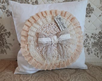 Lovely romantic Cushion cover, shabby, French, decorative cushion cover pillow Cushion cover