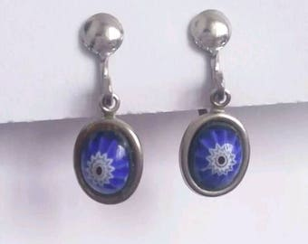 Original 1950s 1960s screw back earrings