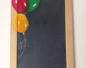 "Schoolboy slate ""Balloons"""