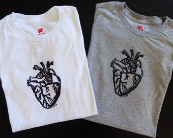 Anatomical Heart Tshirt