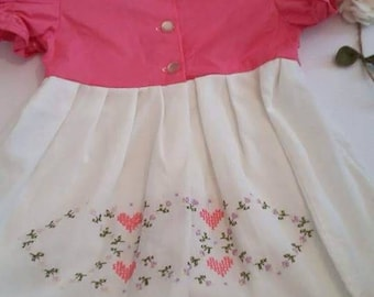 Handmade dress 6-9 month sale