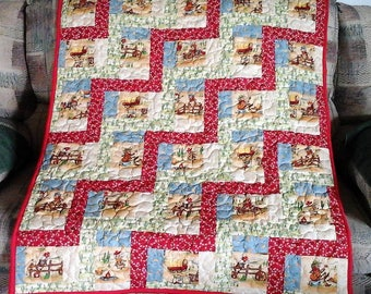 Lil Cowboy Baby Quilt