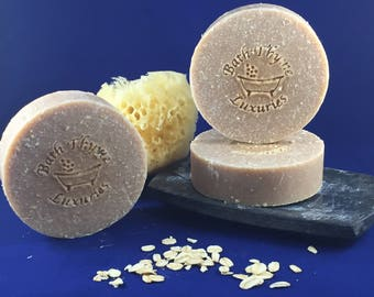 Oats, Milk & Honey Soap  FREE SHIPPING