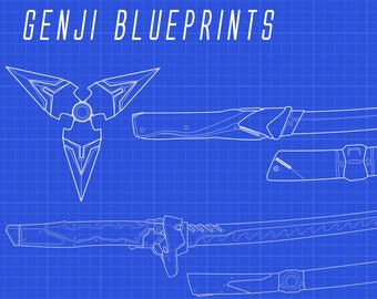 Genji Weapons Blueprint