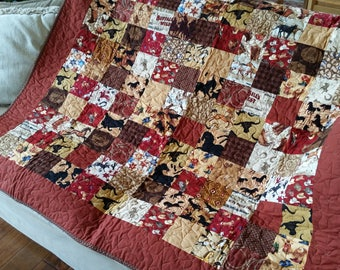 Happy Trails coverup quilt