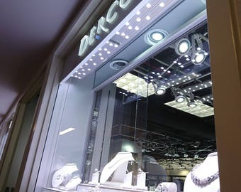 LED Track Lighting WNC-75W(9500K) for Retail Store,TradeShow,ShowRoom