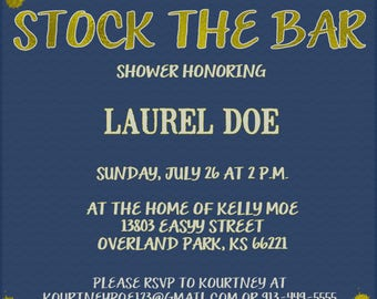 Stock the Bar Invitation