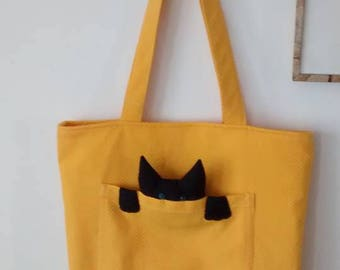 Cat Tote for Cat Lovers