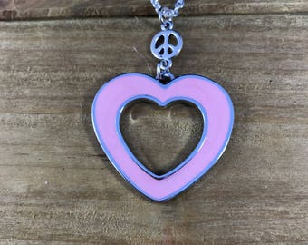 Peace and Love Necklace!