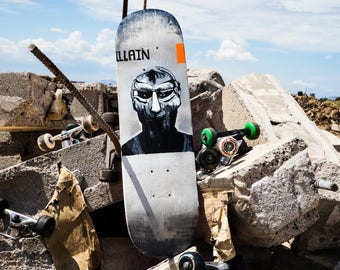 MF Doom skateboard deck