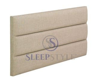 4FT6 Double Marlow Upholstered Headboard - Choose Any Fabric, Also Available In Various Heights
