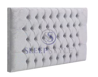 3FT Single Classic Upholstered Headboard - Choose Any Fabric, Also Available In Various Heights