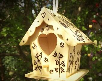 Tiny Birdhouse Decoration