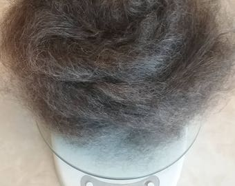 Hand Combed Mohair