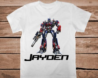 Transformers Tee Tees T-shirt For Kids Superhero T-Shirt Unique Transformers Tees for Boys Superheroes Custom T-shirts for Kids, aa42