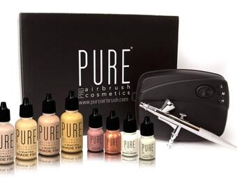 Pure Pro Airbrush Make Up Kit-1oz Make up Upgrade kit