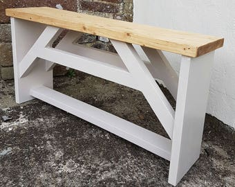 Solid Pine Kitchen Bench