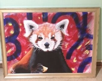 The HUNGRY RED PANDA