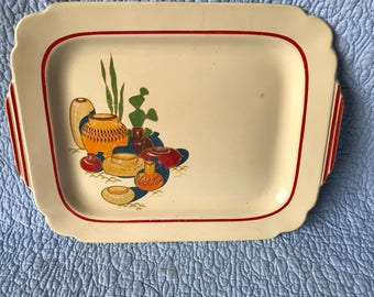 Vintage Mexican Serving Plate