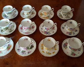 Tea set Queen's Rosina - Special Flowers - 12 months