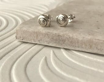 Silver Shell Earrings | Silver Shell Jewellery | Gifts for Beach Lovers