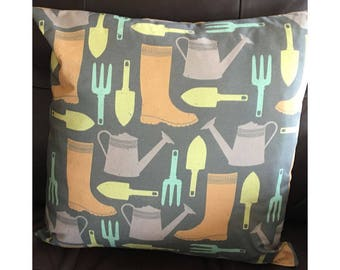 Gardener Throw Pillow