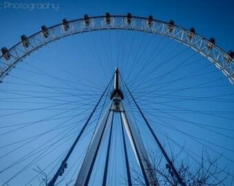 Digital London Eye Photo
