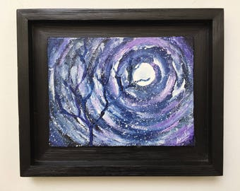 Dreaming The Night Away - Original Painting