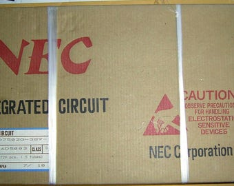 Lot of 300 Vintage Pieces of 4Bit NEC Micro-Processor #uPD7502G-389-12- In Original Package