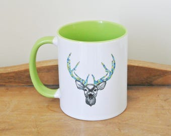 Deer Illustration mug