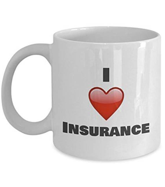 I love Insurance Insurance mug Insurance Coffee Mug