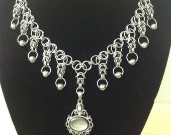 Chainmaille Stainless Steel Necklace