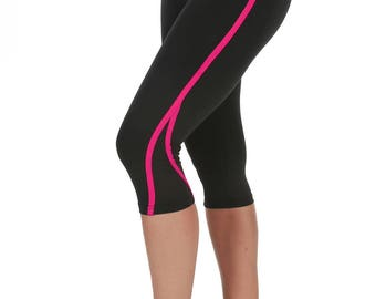 Verscos Women's Stretch Capris Cropped Tight Leggings 5009
