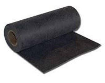 """Cut Away - Black Medium (2.5 oz) Cutaway Machine Embroidery Stabilizer Backing 23"""" wide by the yard"""