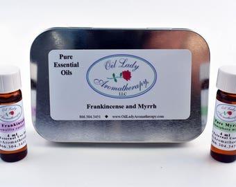 Frankincense & Myrrh Tin